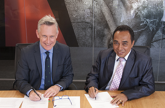 University of Pattimura MOU signing