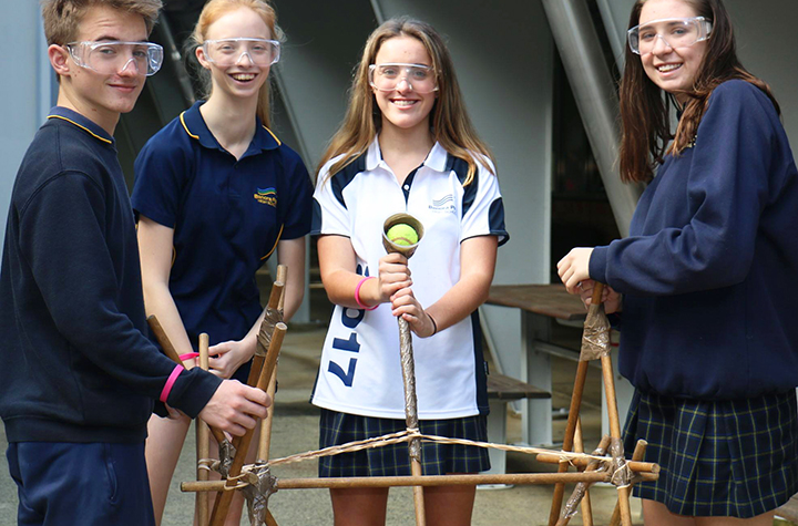 Banora Point High at Science and Engineering Challenge 2017