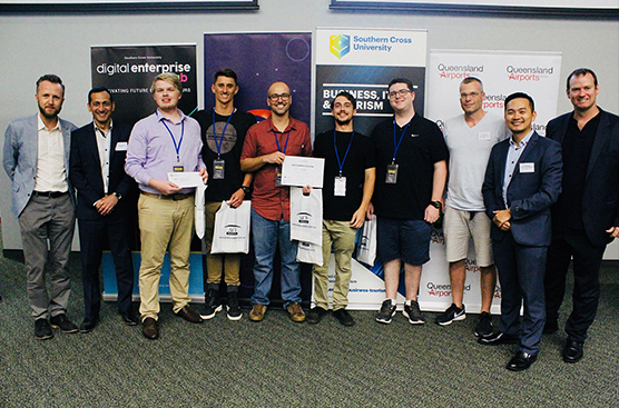 Southern Cross University Coders at Digital Enterprise Lab Innovation Challenge