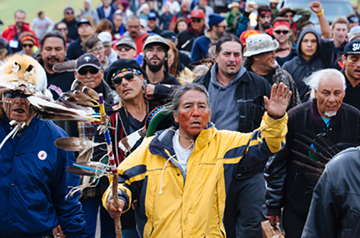 Standing up for Standing Rock Credit Angus Mordant