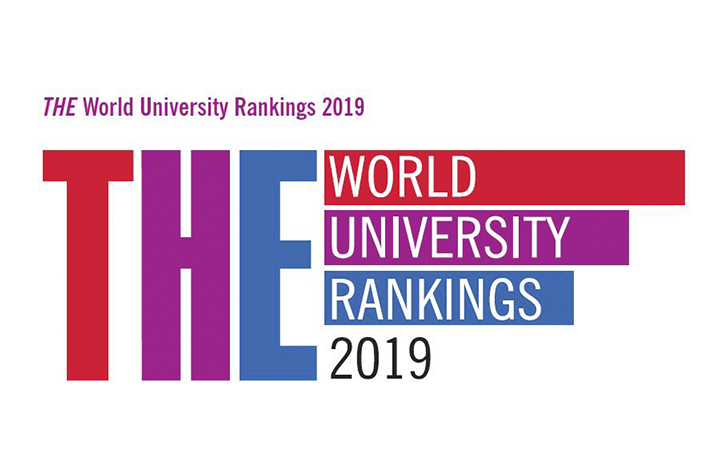 Times Higher Education ranking logo 2019