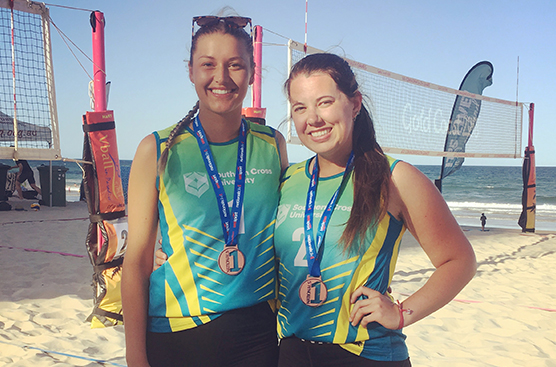 UniSport Nationals, Kirsty Barker and Taylor Witthun