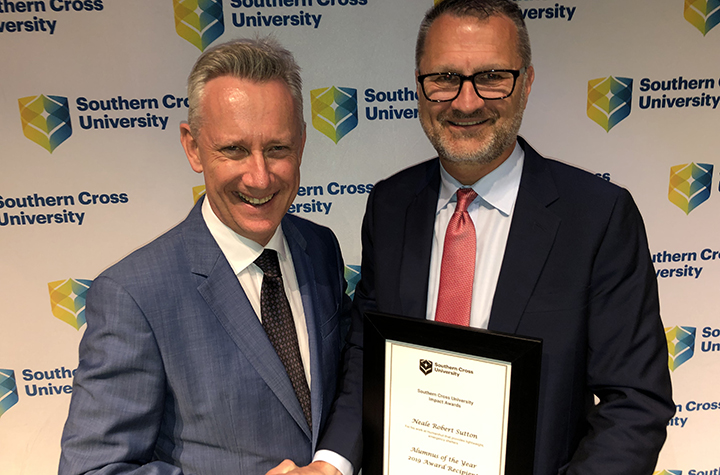Neale Sutton 2019 Alumnus of the Year
