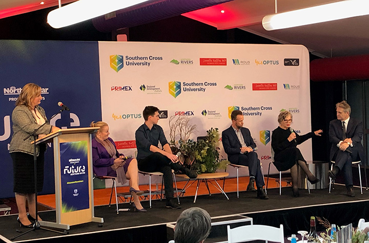 Future Northern Rivers forum panel