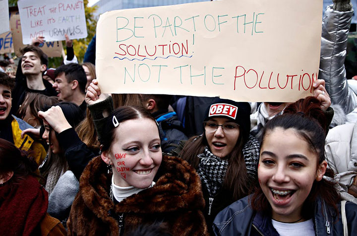 The Conversation climate change student protests reduced