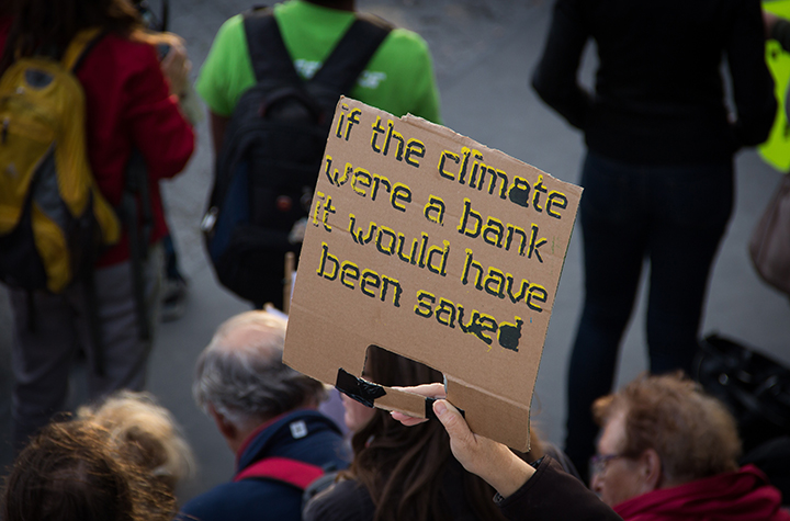 Climate action strike