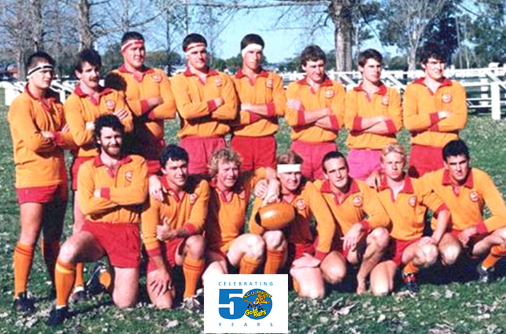 Gold Rats first grade runners-up 1987