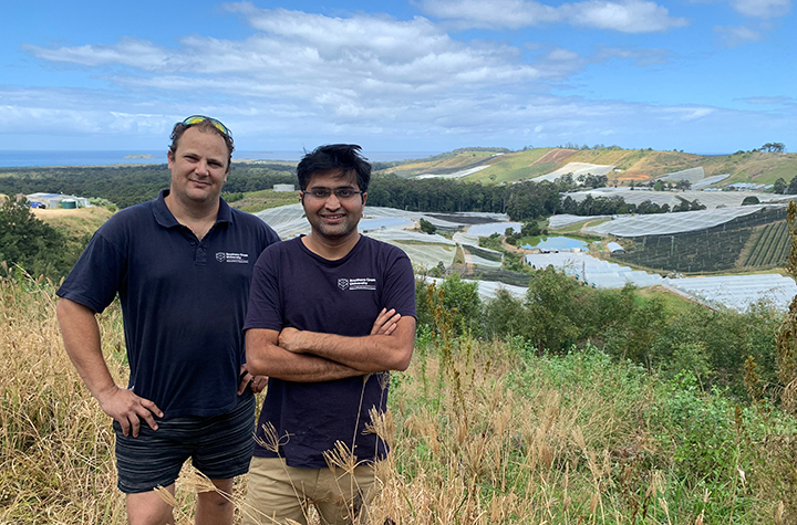 Horticulture in Coffs coast catchment with Shane White and Praktan Wadnekar
