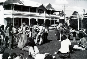 Freemason's Hotel during Aquarius Festival 1973