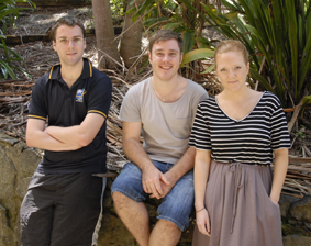 David Wilton, Justin Fenwick, Gabi Jeffery